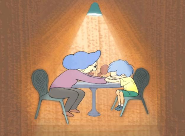 Ένα αγόρι με σύνδρομο Άσπεργκερ παίρνει συνέντευξη από τη μαμά του