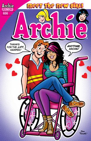 Ήρωας κόμικς ένα άτομο με αναπηρία