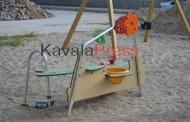 Παιδική χαρά για παιδιά με αναπηρία στην Καβάλα