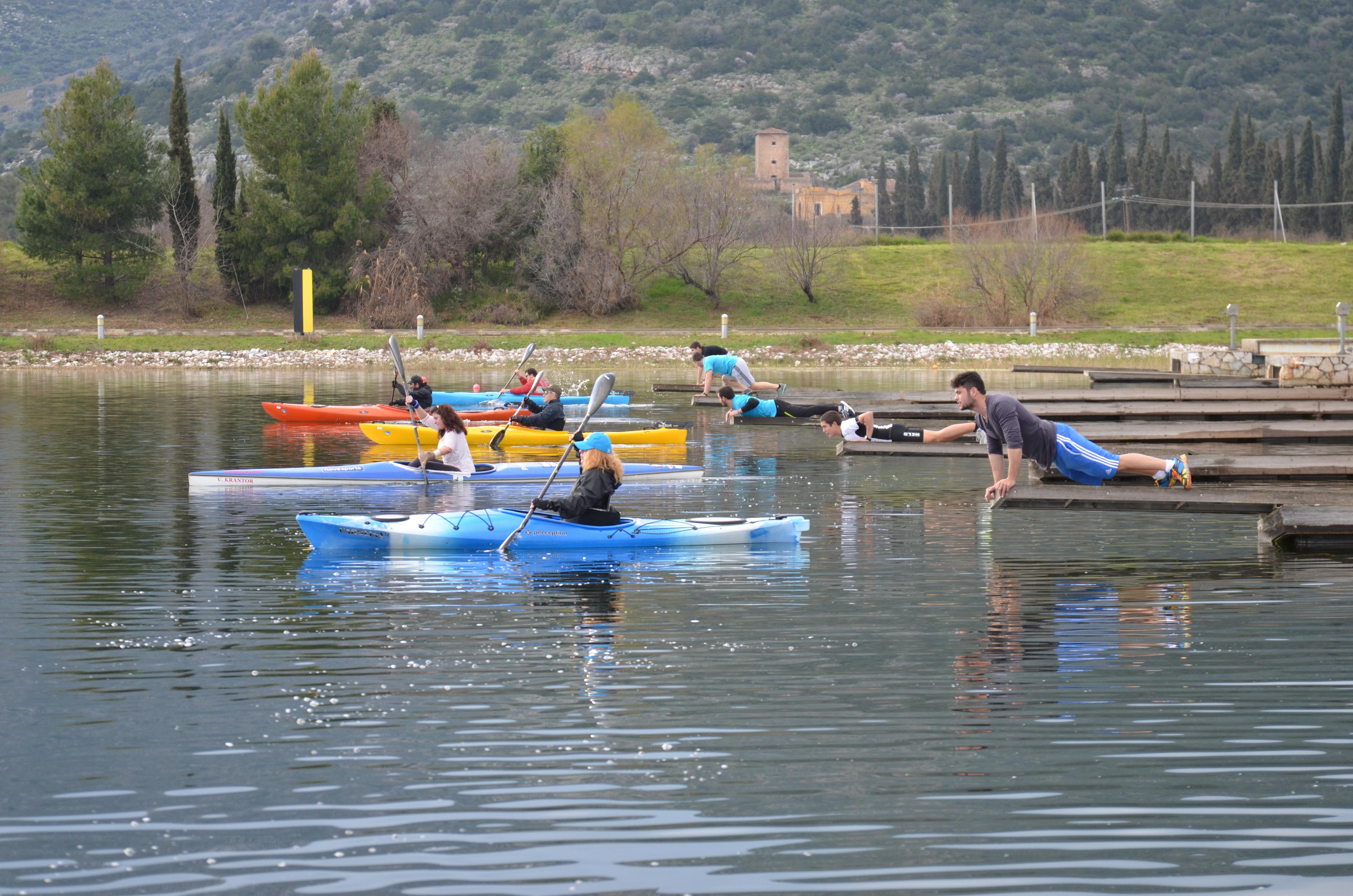 Αγώνες canoe-kayak 01/03/2015
