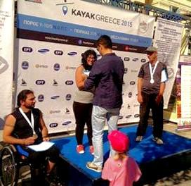 Πρώτη φάση των αγώνων kayak greece