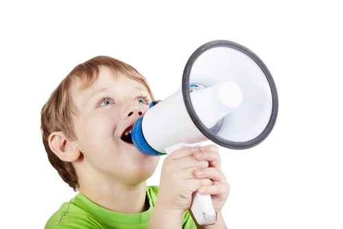 Child-using-Megaphone