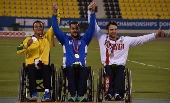 Τρία μετάλλια στο Κατάρ για την Εθνική Παραολυμπιακή Ομάδα Στίβου