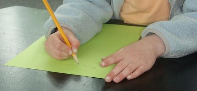 Λειτουργικοί τρόποι σύλληψης ενός μολυβιού στα παιδιά