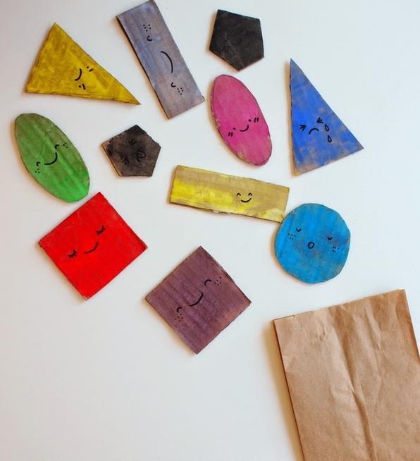 Παιχνίδι για να μάθουν τα παιδιά τα γεωμετρικά σχήματα