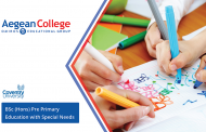 BSc (Hons) Pre Primary Education with Special Needs