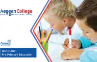 BSc (Hons) Pre Primary Education